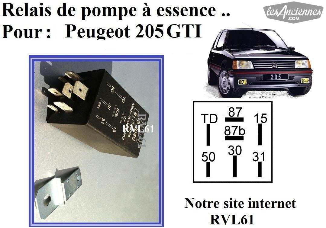 relais tachym trique peugeot 205 309 gti ventes de pi ces auto les annonces les anciennes. Black Bedroom Furniture Sets. Home Design Ideas