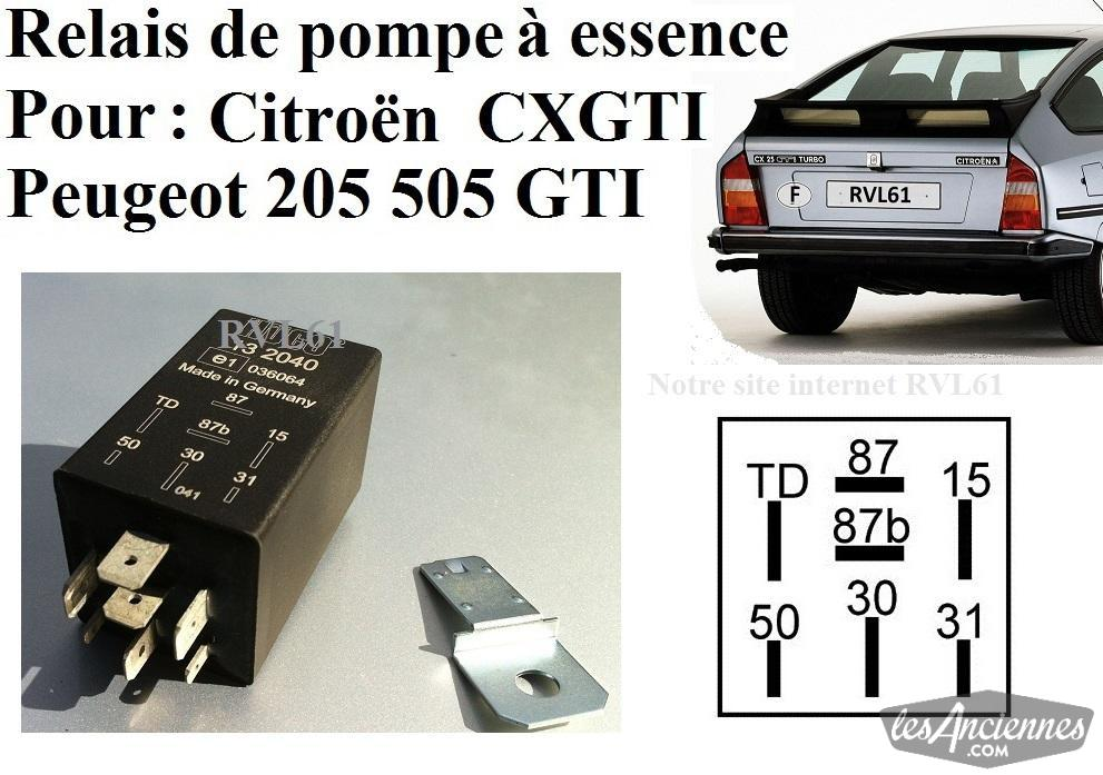 relais citroen cx gti pompe essence ventes de pi ces auto les annonces les anciennes com. Black Bedroom Furniture Sets. Home Design Ideas